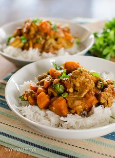 Lovely flavours come together in this Chicken, Sweet Potato and Lentil Curry I love curries, so it is no surprise that there are many different ones to be found here on Slimming Eats This one is packed with flavour and is really delicious, the sweet potato adds a natural sweetness to this against the heat...Read More »