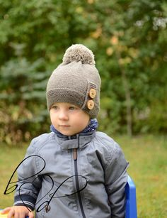 2dc6da2d21e 37 Best Baby boy winter hat images