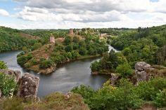 Les ruines de la forteresse du Crozant