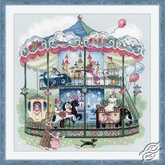 Carousel - Cross Stitch Craft Kits by RIOLIS - 1458