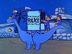 The Flintstones - Bedrock Police Classic Cartoon Characters, Cartoon Books, Classic Cartoons, Cartoon Art, Best Cartoons Ever, Famous Cartoons, Old Cartoons, Animated Cartoons, Today Cartoon