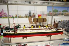 Make Pokemon Cards, Lego Ship, Navi, Titanic, Legos, Boat, Table Decorations, Photo And Video, Creative