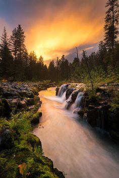 Rogue River Sunset   Oregon //by Nicolaus Wegner