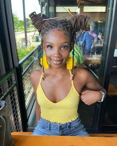 Black Love Art, Beautiful Black Girl, Black Lives Matter Shirt, Dreadlock Styles, Dark Skin Beauty, Black Girl Aesthetic, Brown Girl, Black Girl Magic, Locs