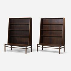 bookcases, pair / Kurt Olsen < All < Shop | Wright Now  *perfect for the library in your midcentury wet dream....
