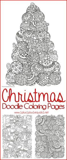 Free Christmas coloring pages for kids and adults - Joyeuxx Noel 2020 Christmas Doodles, Christmas Crafts For Kids, Christmas Printables, Christmas Colors, Kids Christmas, Holiday Crafts, Holiday Fun, Christmas Activities For Adults, Christmas Games