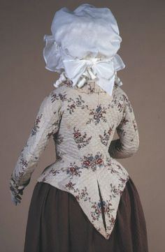 Quilted Cotton Jacket, ca. 1780via de Young Museum