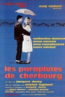 French, 1964. A colorful confection about two young lovers separated by war and the separate paths their lives then took. All the dialogue is sung and I found that annoying but Catherine Deneuve and Nino Castelnuovo made it easy to sit through.