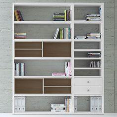 Regalwand Emporior II.A   Ohne Beleuchtung   Weiß / Eiche Sonoma Dekor,  Loftscape Jetzt Bestellen Unter: ... Home Design Ideas