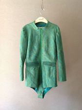 Comme des Garcons Junya Watanabe AD 2004 Green Striped Design 1-All Jacket