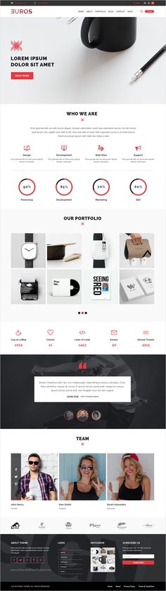 Euros is multipurpose #PSD template suitable for #agencies, freelancers, portfolio and any kind of corporate website with 8 unique homepage layouts and 45 organized PSD pages download now➩ https://themeforest.net/item/euros-multipurpose-psd-template/17362799?ref=Datasata