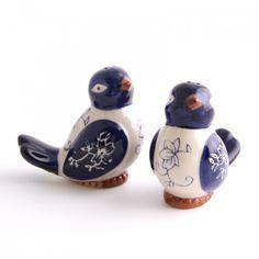 temp-tations by Tara: temp-tations® Floral Lace Figural Bird Salt Pepper Shakers