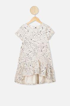 Joss Short Sleeve Dress | Baby, Toddler & Kids Clothing | Cotton On Kids Girls Dresses, Short Sleeve Dresses, Dresses With Sleeves, Summer Dresses, Short Sleeves, Girls Party Dress, Baby Dress, Everyday Dresses, Girls Shopping
