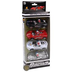 RACING CARS 4PK PLAY SET TOY GAME FOR KIDS CHILDREN GREAT GIFT PRESENT IDEA #Unbranded Games For Kids, Race Cars, Great Gifts, Presents, Racing, Personalized Items, Toys, Children, Ebay