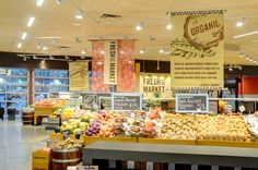 KRS - King Retail Solutions : Portfolio : Fresh St. Market, Vancouver grocery