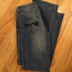 American Rag Jeans American Rag Jeans. 7 R. Inseam 31 American Rag Jeans Flare & Wide Leg