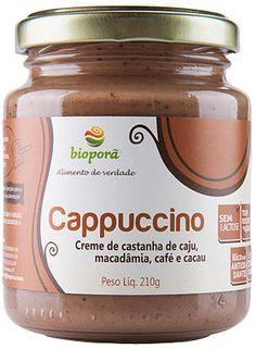 Creme de Castanha de Cajú, Macadâmia, Café e Cacau Bioporã.