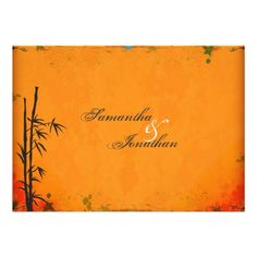 DealsElegant Vintage Asian Bamboo Wedding InvitationWe have the best promotion for you and if you are interested in the related item or need more information reviews from the x customer who are own of them before please follow the link to see fully reviews