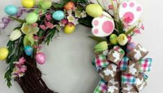 Ευχές Χριστός Ανέστη σε εικόνες - eikones top Diy Wreath, Grapevine Wreath, Easter Wreaths, Grape Vines, Floral Wreath, Home Decor, Wreaths, Home, Crown Flower