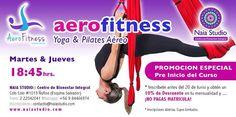 AeroFitness:: Yoga & Pilates Aéreo en Ñuñoa. Clases regulares Julio 2015.