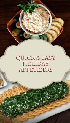 Quick & Easy Holiday Appetizers