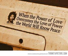 Jimi Hendrix Said