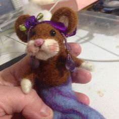Little mermouse almost done!