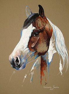 Paint horse by Paulina Stasikowska