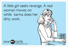 A little girl seeks revenge