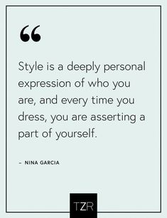 Best Career Advice We've Ever Received This inspirational fashion quote by Nina Garcia never gets old.This inspirational fashion quote by Nina Garcia never gets old. New Quotes, Quotes To Live By, Motivational Quotes, Life Quotes, Inspirational Quotes, Fashion Designer Quotes, Fashion Quotes, Quotes About Fashion, Fashion Ideas