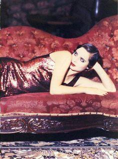 Vogue US Jan 1993 - Isabella Rossellini by Ellen Von Unwerth