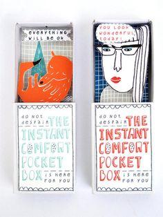 matchbox comfort kits - Kim Welling Instant comfort box DIY kit