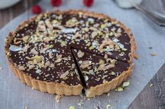 Chocolate Coconut Tart
