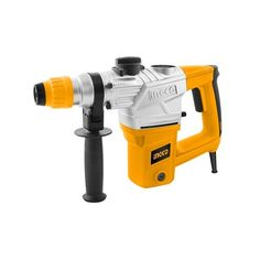 Input power: 1050W  No-load speed: 900rpm  Impact rate: 4000bpm  Impact energy: 5J  Max.drilling capacity: Concrete:28mm Steel:13mm Wood:40mm  SDS plus chuck system With 3 drills and 2 ch…