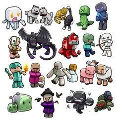 cute minecraft - Pesquisa Google