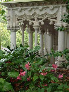 Gardens at Quinta da Regaleira, Portugal