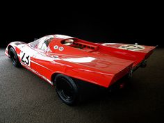 Porsche 917K ... 1970 Le Mans winning car, driven by Brit Richard Attwood and Hans Herrmann of Germany