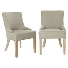 Check out this item at One Kings Lane! Jute Locke Side Chairs, Pair