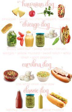 Tasty hot dogs - love Carolina dogs
