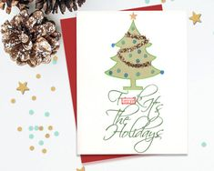 F it's the holidays!, Mature holiday card, Adult Christmas Card, Funny Holiday…