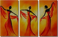 Pinturas etnicas de africanas - Imagui African Image, Afrique Art, African Art Paintings, Wine Art, Afro Art, Silhouette Art, Large Painting, Art Techniques, Female Art