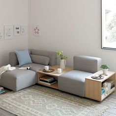 Modern Sofa and Furniture Ideas for Your Home or Office Modular Furniture, Sofa Furniture, Furniture Plans, Furniture Design, Sofa Set Designs, Sofa Design, Interior Design, Casa Muji, Design Modular