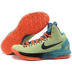 http://www.anike4u.com/ Cheap Kevin Durant Shoes Black Orange Blue Green