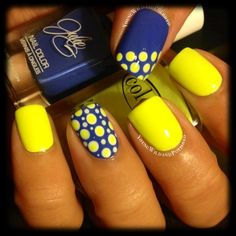 Neon Dotticure by YoungWildandPolished