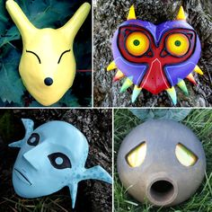You've met a terrible fate, haven't you? Grab a Legend of Zelda mask like no other! Wear it, mount it on your wall and cause all sorts of trouble with them.
