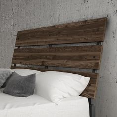 Shop for Amisco Riverton Queen Size Metal Headboard with Wood. Get free delivery at Overstock.com - Your Online Furniture Shop! Get 5% in rewards with Club O!