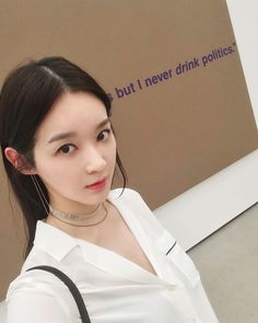 "26.4k lượt thích, 150 bình luận - 강민경 (@iammingki) trên Instagram: """"I eat politics and I sleep politics, but I never drink politics."""""