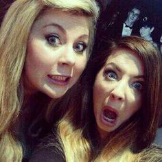 Louise and Zoe