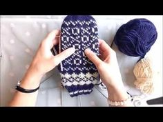 Noughts and Crosses Mittens part 2 - YouTube