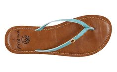 Umi from Ocean Minded - made from recycled plastic bottles, car tires and croslite, these sandals are super-comfy and vegan
